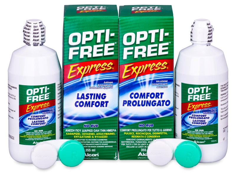 Soluție OPTI-FREE Express 2x355ml  - Economy duo pack- solution