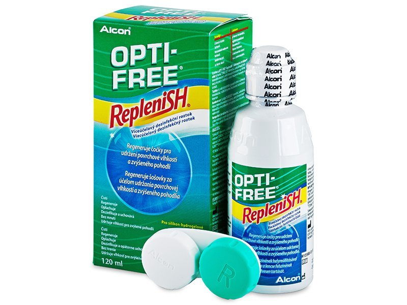 Soluție Opti-Free RepleniSH 120ml  - Soluție de curățare - Alcon
