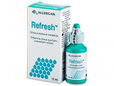 Lacrimi artificiale - Picături oftalmice Refresh 15 ml