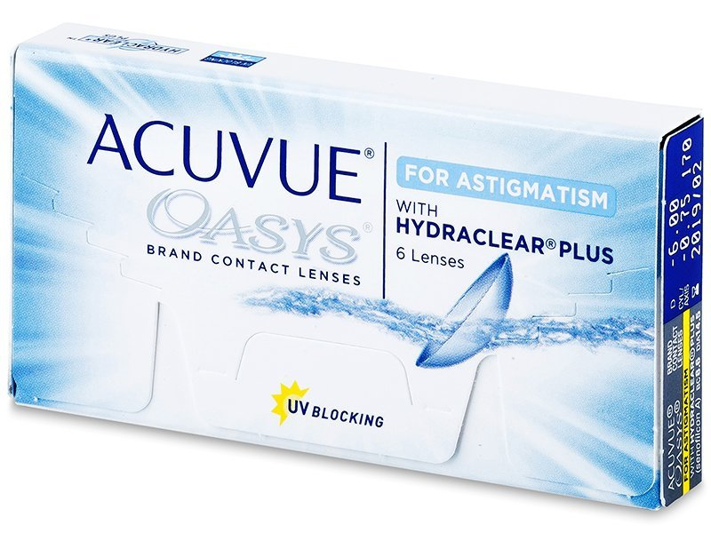 Acuvue Oasys for Astigmatism (6 lentile) - Lentile de contact torice - Johnson and Johnson
