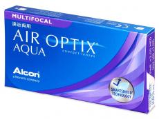Air Optix Aqua Multifocal (3lentile) - Lentile de contact multifocale