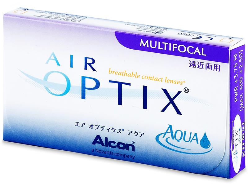 Air Optix Aqua Multifocal (3lentile) - Design-ul vechi