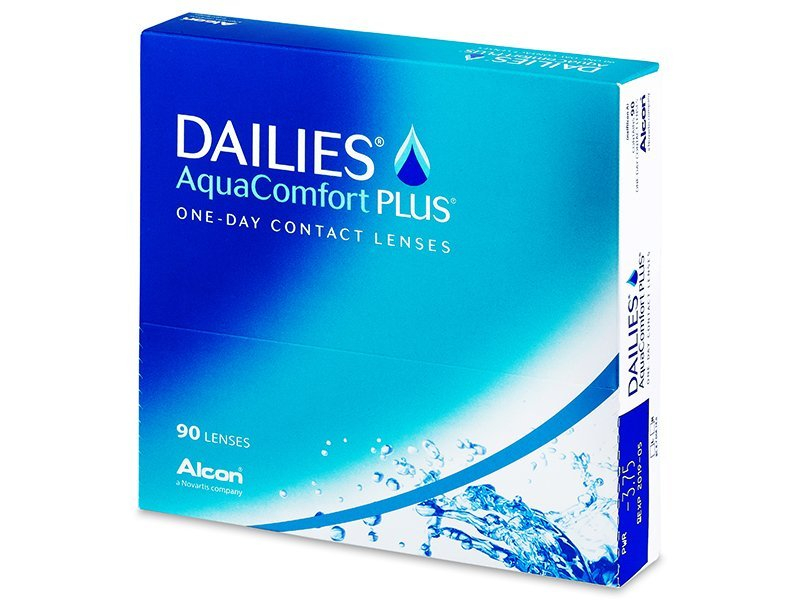 Dailies AquaComfort Plus (90 lentile) - Lentile de contact de unică folosință - Alcon