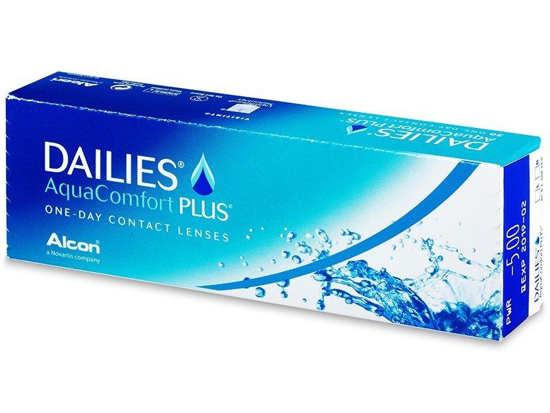 Dailies AquaComfort Plus (30lentile) - Lentile de contact de unică folosință - Alcon