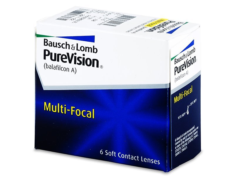 PureVision Multi-Focal (6 lentile) - Lentile de contact multifocale - Bausch and Lomb