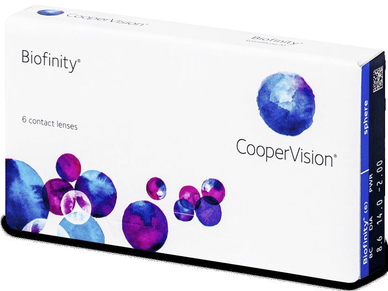 Biofinity (6lentile) - Lentile de contact lunare