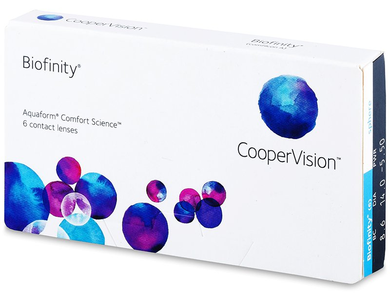 Lentile de contact lunare - Biofinity (6lentile)
