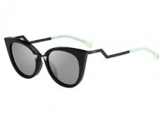 Ochelari de soare Cat-eye - Fendi FF 0118/S AQM/UE