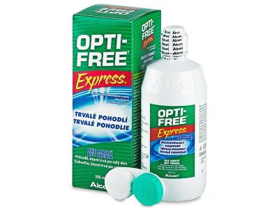 Soluție OPTI-FREE Express 355 ml  - Design-ul vechi