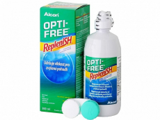 Soluții și lacrimi artificiale pentru lentile de contact - Soluție Opti-Free RepleniSH 300 ml