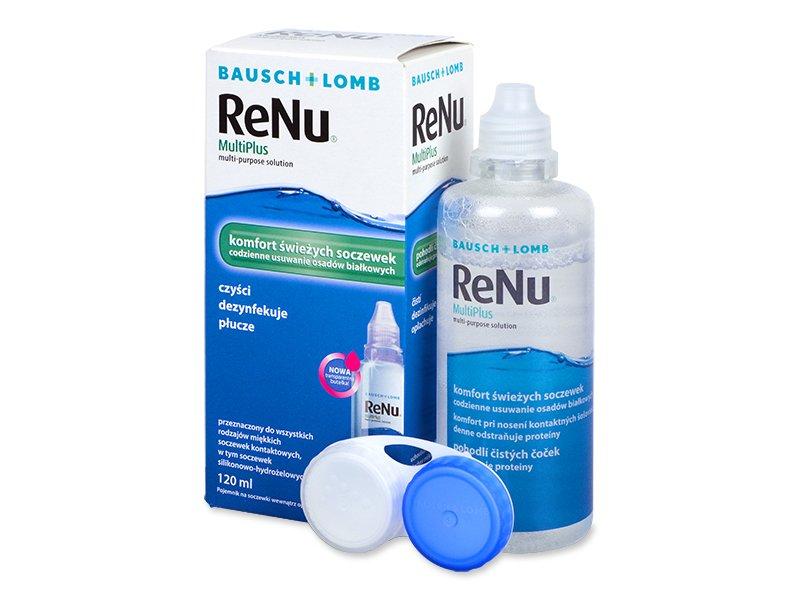 Soluție ReNu MultiPlus 120ml  - Soluție de curățare - Bausch and Lomb