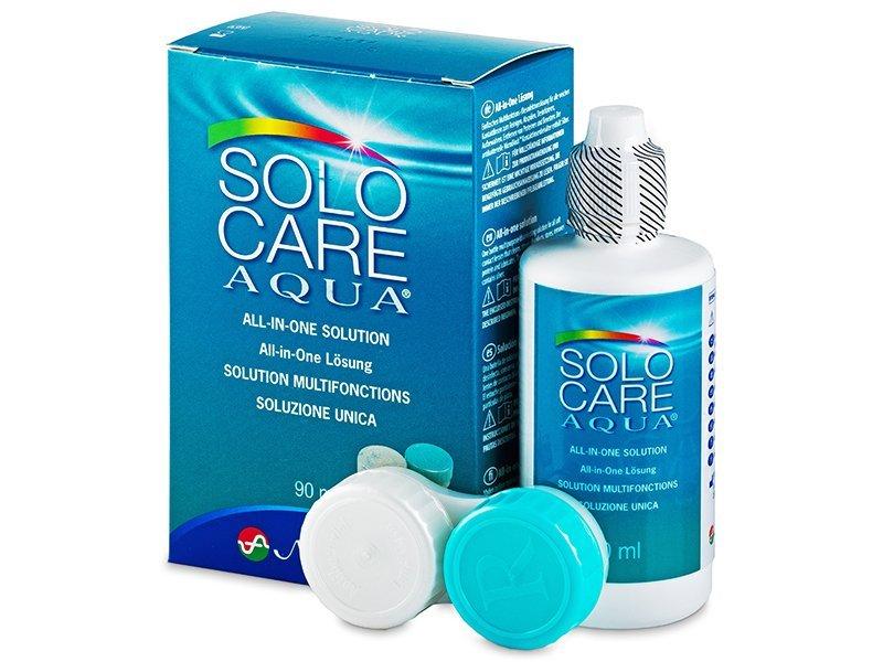 Soluție SoloCare Aqua 90 ml  - Soluție de curățare - Menicon