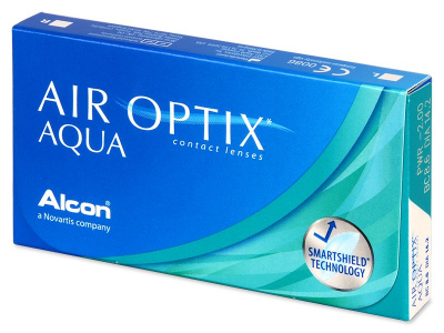 Air Optix Aqua (6 lentile)