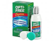 Soluții lentile de contact - Soluție OPTI-FREE Express 120ml