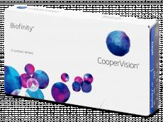 Lentile de contact - Biofinity (3lentile)