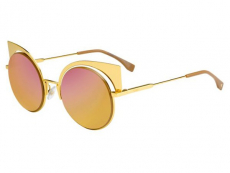 Ochelari de soare Rotunzi - Fendi FF 0177/S 001/OJ