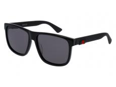 Ochelari de soare Gucci - Gucci GG0010S-001