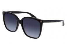 Ochelari de soare Gucci - Gucci GG0022S-001
