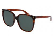 Ochelari de soare Gucci - Gucci GG0022S-002