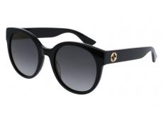 Ochelari de soare Ovali - Gucci GG0035S-001