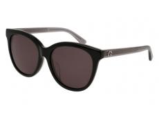Ochelari de soare Ovali - Gucci GG0081SK-002