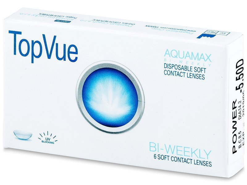 TopVue Bi-weekly (6lentile) - Lentile de contact bi-săptămânale - TopVue
