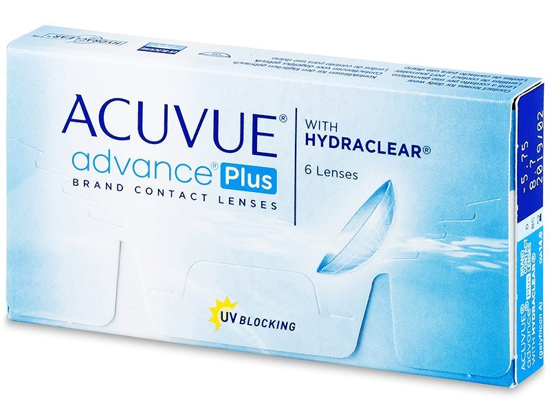 Acuvue Advance PLUS (6 lentile) - Lentile de contact bi-săptămânale - Johnson and Johnson