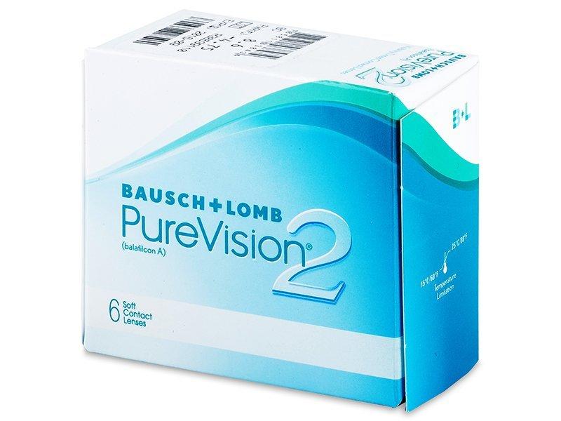PureVision 2 (6lentile) - Lentile de contact lunare - Bausch and Lomb