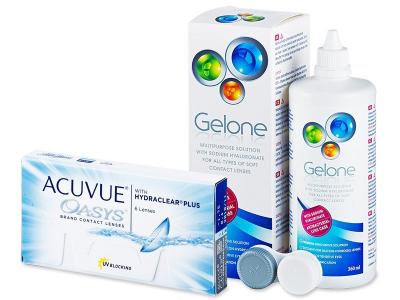 Acuvue Oasys (6lentile) +soluțieGelone360ml - Výhodný balíček