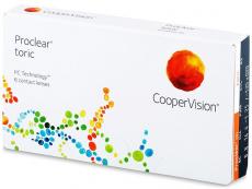 Lentile de contact torice / pentru astigmatism - Proclear Toric (6lentile)