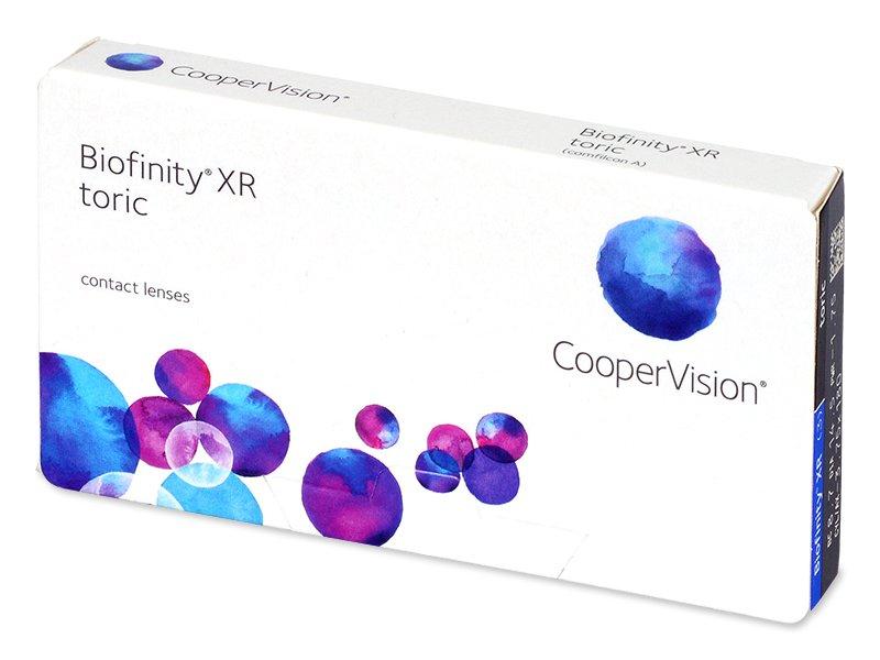 Biofinity XR Toric (3 lentile) - Lentile de contact torice