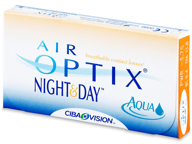 Air Optix Night and Day Aqua (6 lentile) - Design-ul vechi